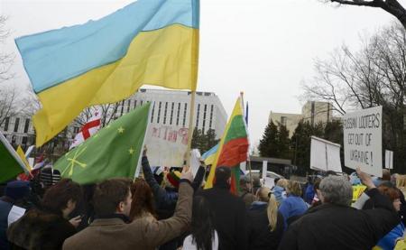 米国、ウクライナ問題で軍事介入視野に入れず=米政府当局者