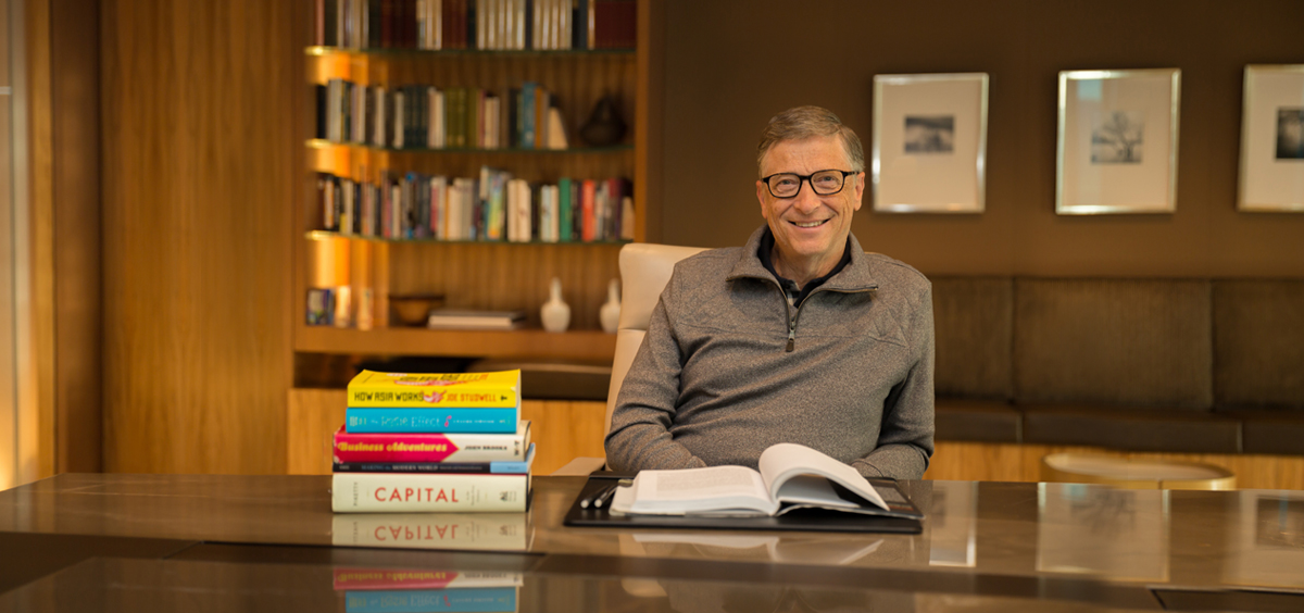"""2014年ビル・ゲイツがおすすめした本""""ベスト5""""。日本語版もある!?"""
