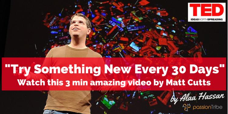 【TED特集】マット・カッツ氏「30日間、何か新しいことをしよう!」〜退屈な日々を抜け出す方法〜