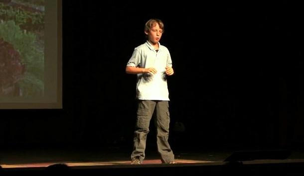 【TED】11歳の少年による的確な指摘、「僕たちの食料システムが何かおかしいよ」