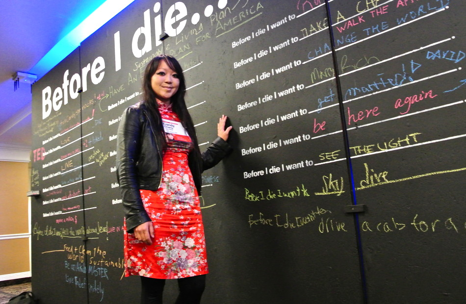 【TED】人生が短いことを忘れてはいけない。キャンディ・チャン「死ぬまでにしたいこと」