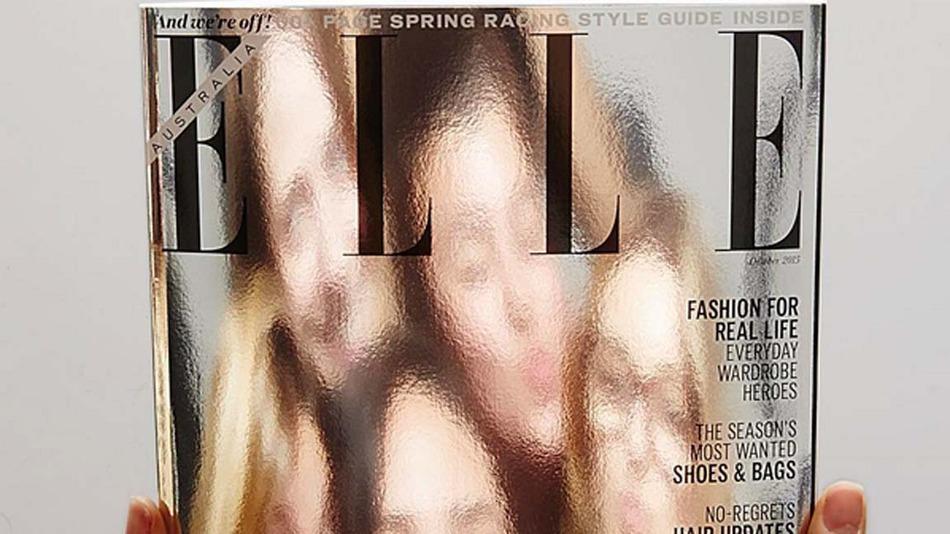 「全ての女性が表紙になれる。」表紙を鏡にしたオーストラリアのELLE誌が話題に。